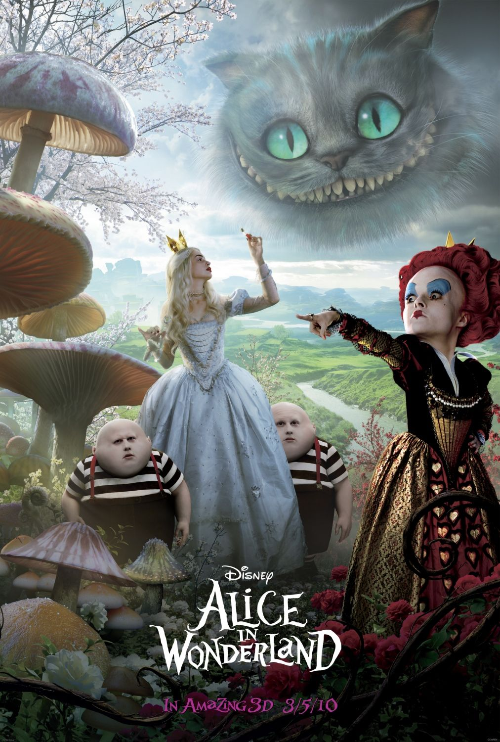 Nonton Film Alice in Wonderland (2010)