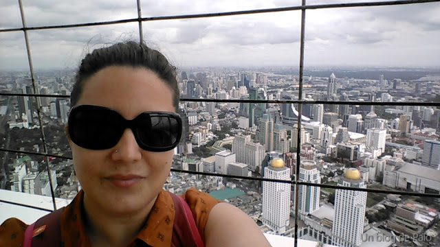 Vistas desde la Torre Baiyoke en Bangkok