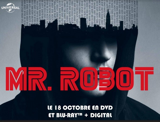 Mr Robot Saison 1 en DVD et Blu-ray