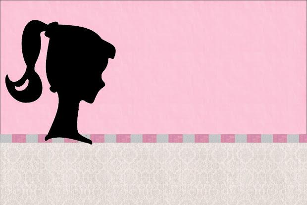 Free Printable Barbie Silhouette