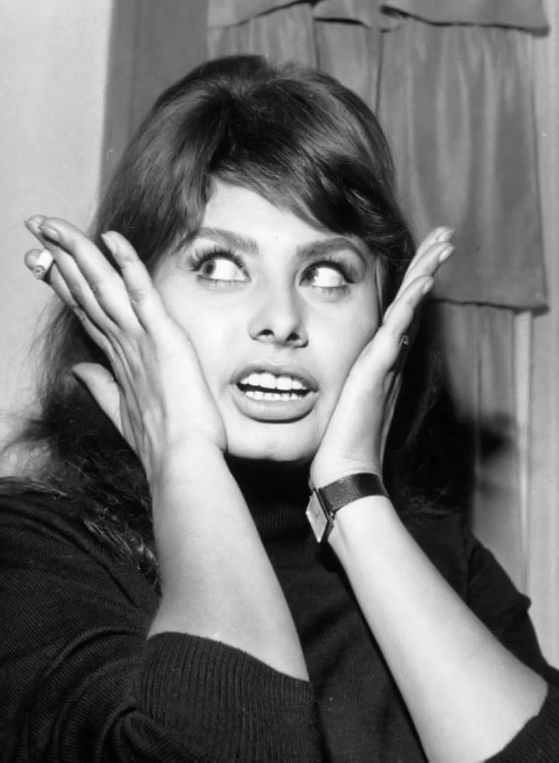 Film Noir Photos: The Eyes Have It: Sophia LorenSophia Loren No Makeup