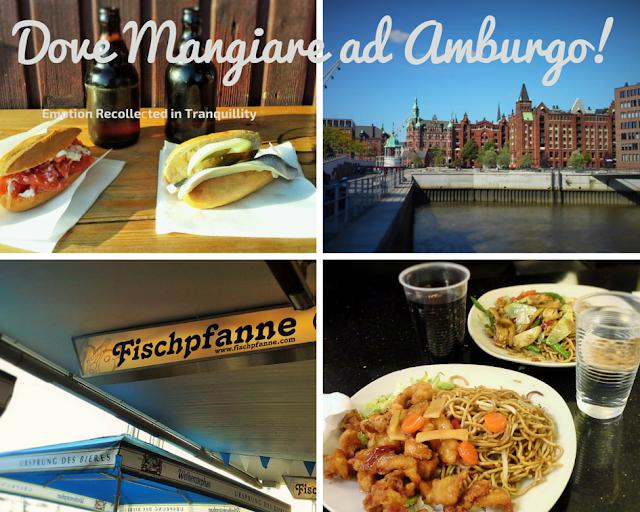 Cosa e dove mangiare a Amburgo