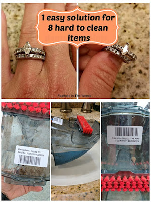 cleaning difficult items