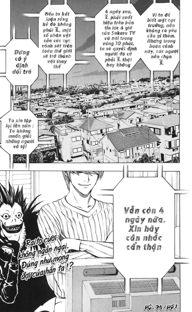 Death Note chapter 024 trang 21
