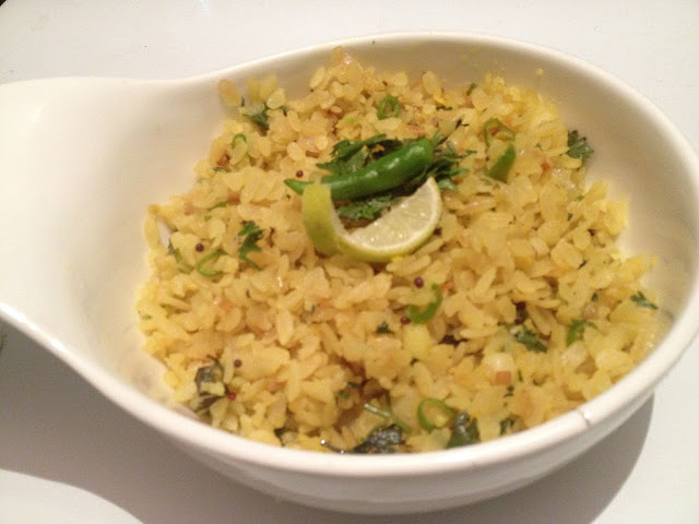 Steamed Poha Recipe