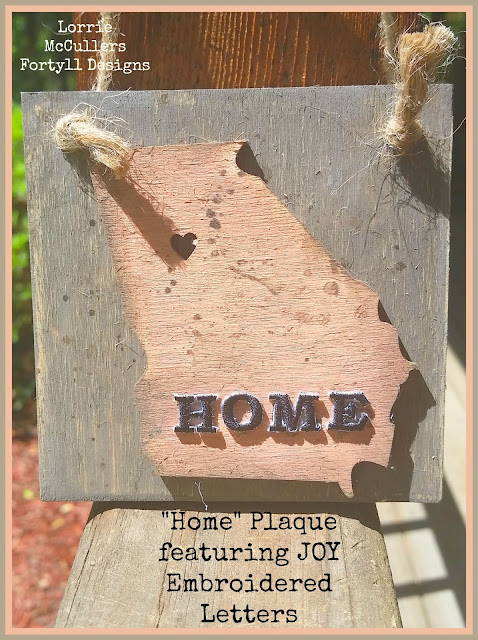 wood home plaque