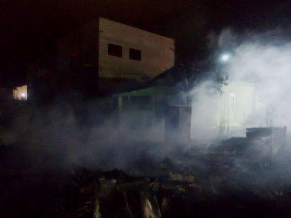 Homem morre carbonizado em incêndio em  Bela Vista do Toldo