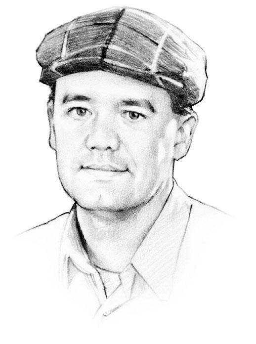 Drawing: Daniel J. Vance