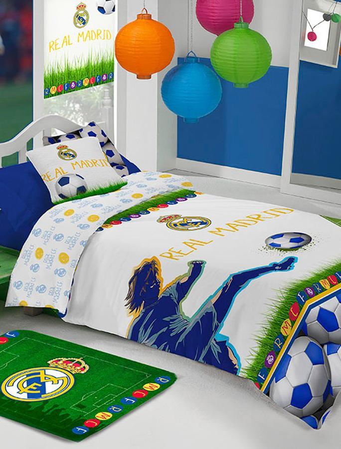 Cojin Edredon Real Madrid.Estadio De Manterol Edredon Infantil Coleccion Real Madrid Kids