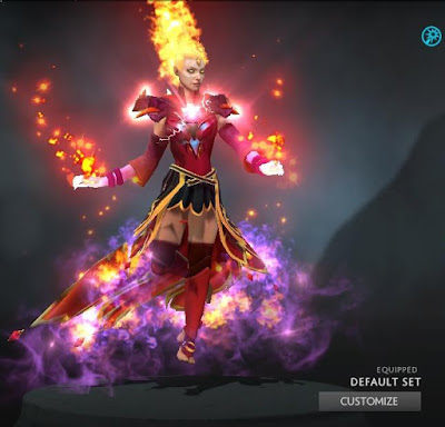 Lina - Arcana+Immortal+Bewitching