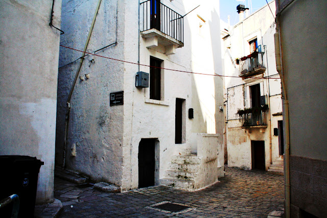 centro Putignano, via storica