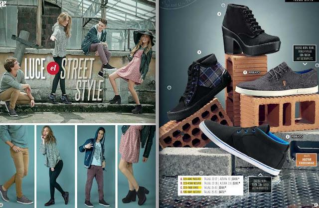 catalogo de calzado de 2018