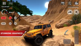 تحميل لعبة الطرق الوعرة قيادة الصحراء OffRoad Drive Desert  المدفوعة مجانا + اموال غير محدودة!