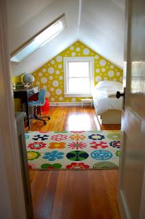 dormitorio pequeño para chica