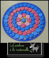 Composition plastique avec bouchons (LaCatalane)