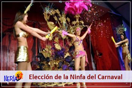 Podrá disfrutar de la elección de la Ninfa y del rey Momo del carnaval de Nerja