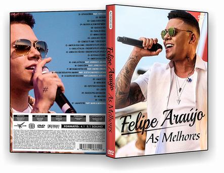 CAPA DVD – Felipe Araújo As Melhores DVD-R