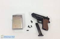 Like real tiny toy pistol gun from Takara Tomy T-arts