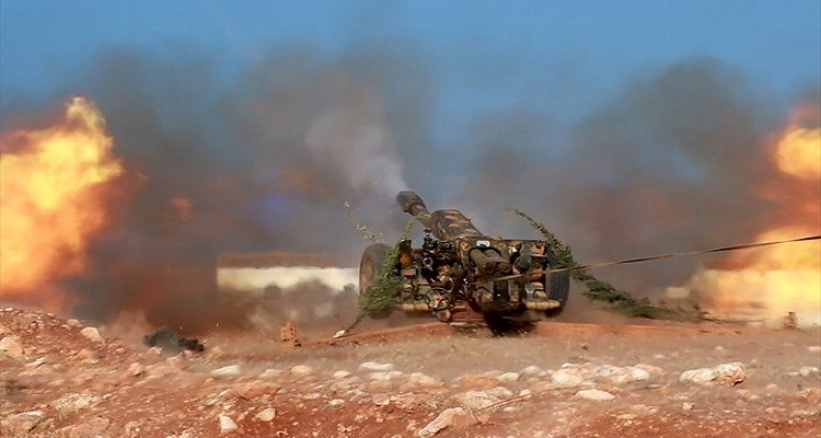 المحيسني بالزي العسكري يعلن عن بدء معركة تحرير حلب