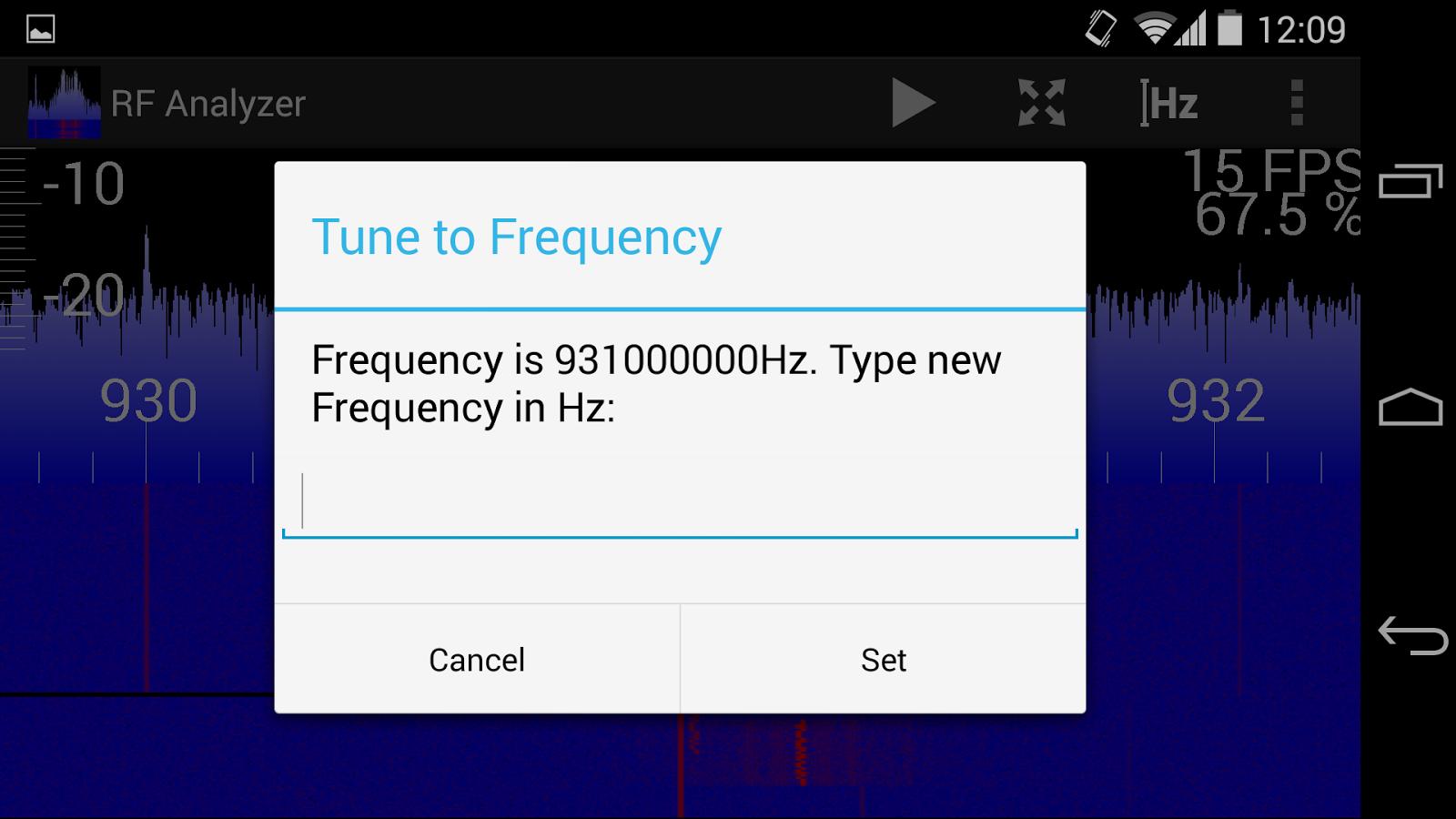 Mantz Tech: RF Analyzer - Explore the frequency spectrum