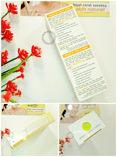bright up tone up cream packaging