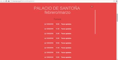 Bienvenidos a Palacio 2016