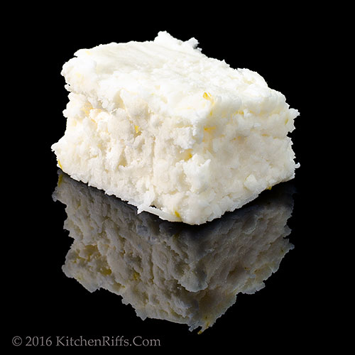 Quick Lemon-Coconut Fudge