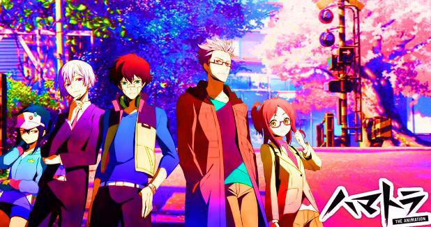 Hamatora The Animation - Top Anime Overpower (Main Character Strong from the Beginning)