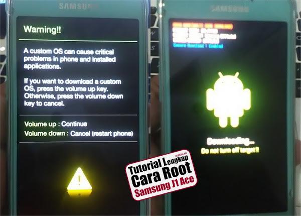 Tutorial Lengkap Cara Root Samsung J1 Ace SM-J110G dengan Odin
