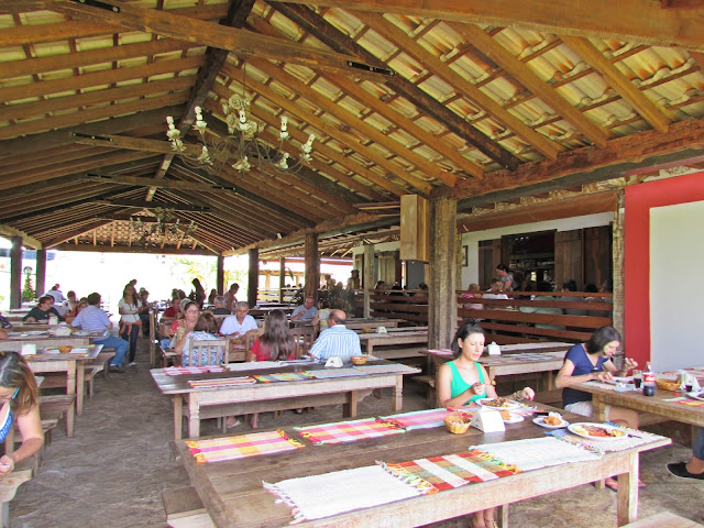 Restaurante de comida típica em Tiradentes - MG