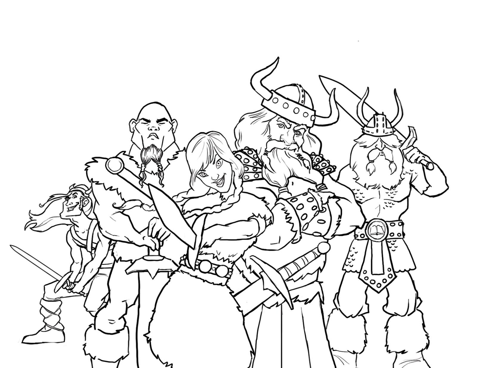 jeneart: Vikings!