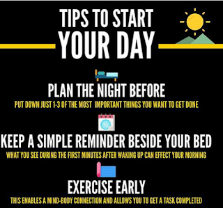 tips to start a day