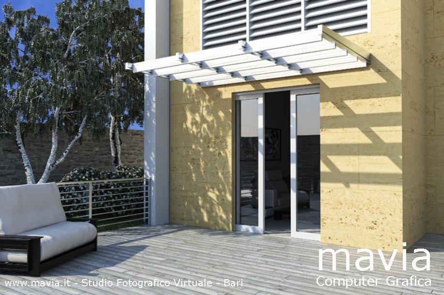 Molto Esterni 3d,Rendering 3d,Architettura 3d: Rendering Bari: Porte  IE59