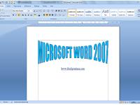 Apa Itu Microsoft Word ? Mocrosoft Word Adalah