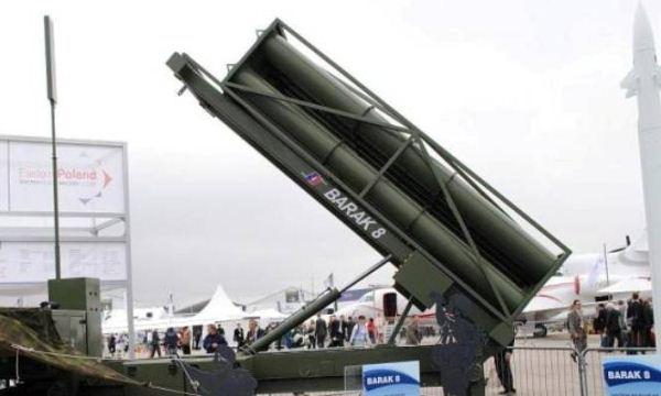 Sistem pertahanan udara Barak 8