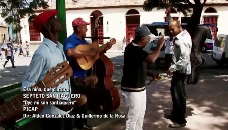 Septeto Santiaguero - ¨Esa niña, qué cintura¨ - Videoclip - Dirección: Alden González - Guillermo de la Rosa. Portal Del Vídeo Clip Cubano
