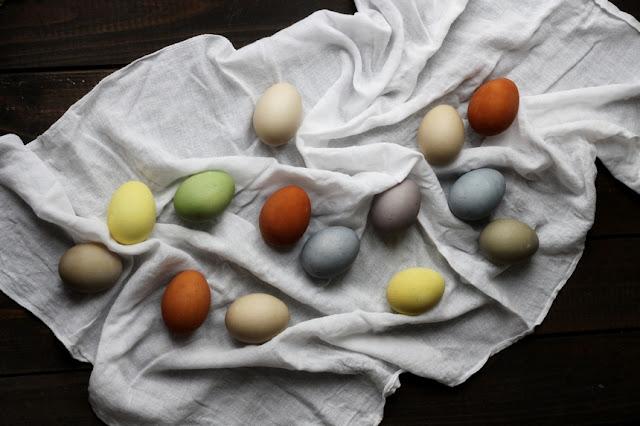 Боядисване на яйца с естествени бои