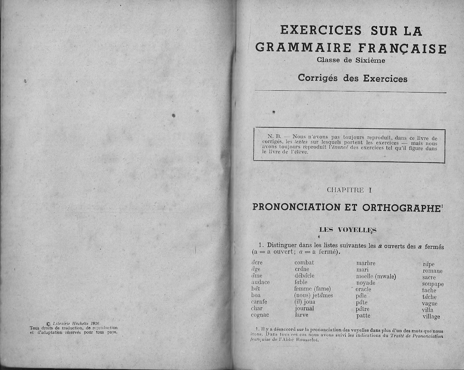 Manuels Anciens Bloch Georgin Exercices Sur La Grammaire
