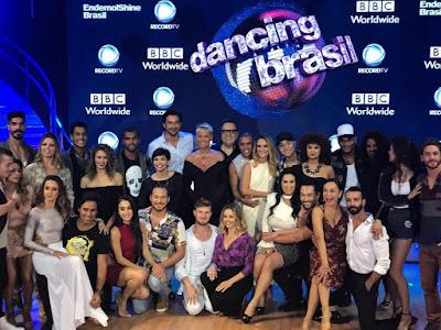 Sucesso de Dancing Brasil faz com que a Record reprise  o programa nos sábados
