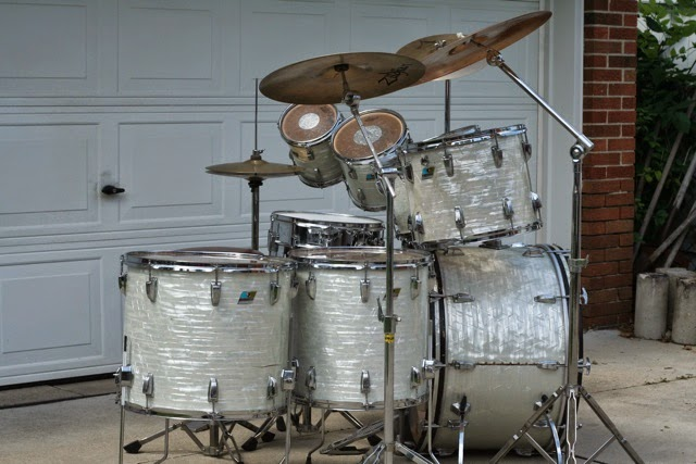 RETRO KIMMER S BLOG  MACHINE GUN S FAVORITE LUDWIG DRUM SET FOR SALE MACHINE GUN S FAVORITE LUDWIG DRUM SET FOR SALE