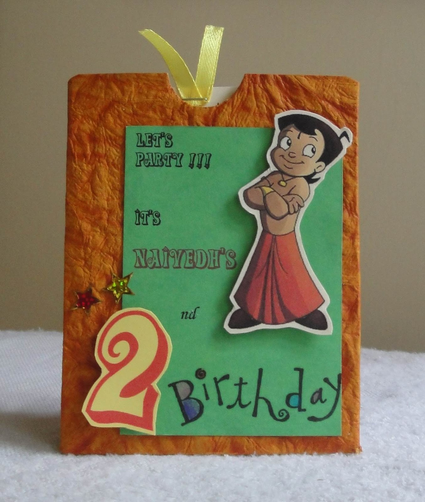 My Handmade Cards Birthday Invites And More
