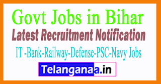 Latest Bihar Government Job Notifications