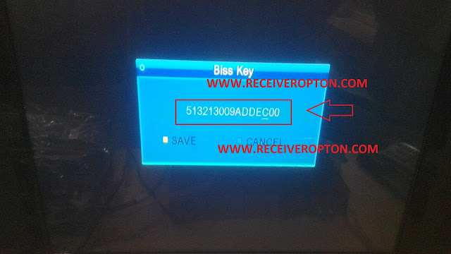 NEOSAT I-5000 HD RECEIVER BISS KEY OPTION