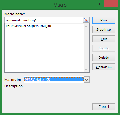 How to delete Personal xlsb file that contains personal macro?