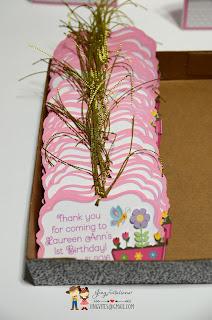 handmade baptism  gift tags