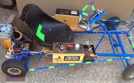 Make Your Arduino Go Fast: A Modern Go-kart