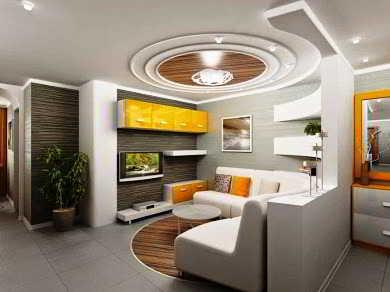 Desain Ruang Tamu Kecil Tapi Mewah