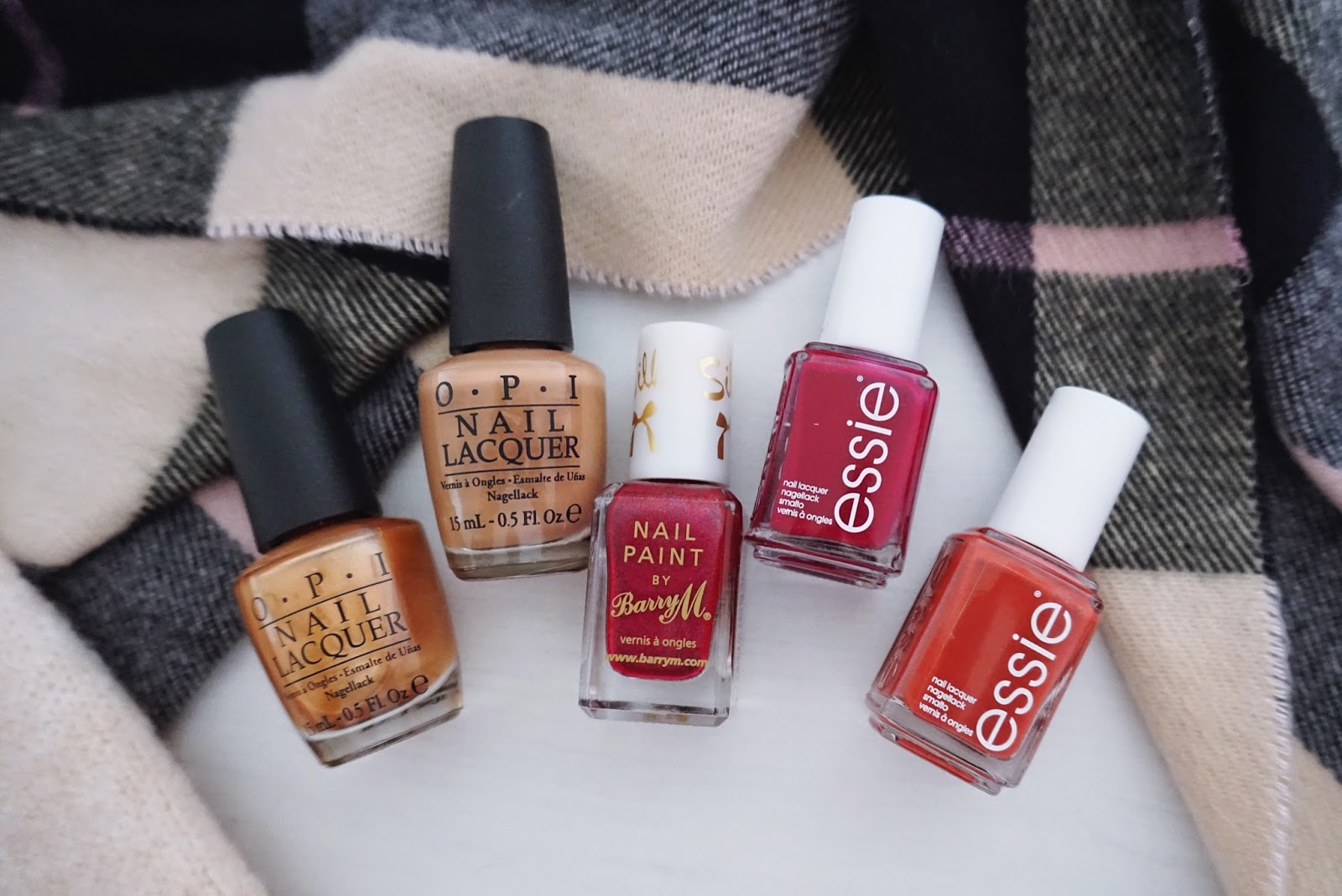 Autumn Nail Polish shades