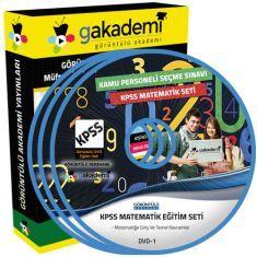 Görüntülü KPSS Matematik Eğitim Seti 21 DVD