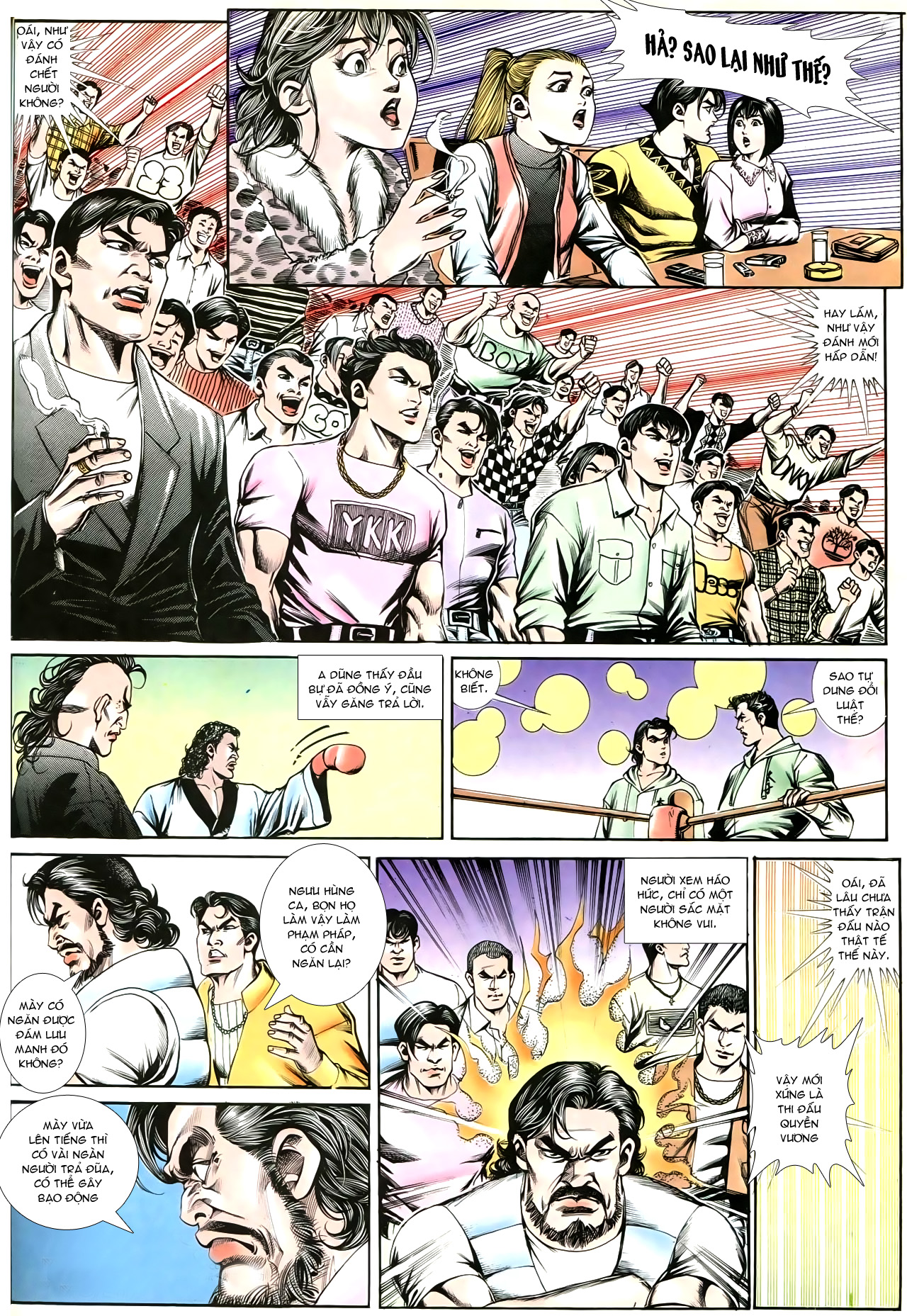 Người Trong Giang Hồ chapter 195: sóng gió ngút trời trang 4